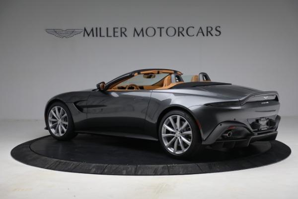 New 2021 Aston Martin Vantage Roadster for sale $174,586 at Maserati of Westport in Westport CT 06880 3