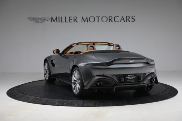 New 2021 Aston Martin Vantage Roadster for sale $174,586 at Maserati of Westport in Westport CT 06880 4