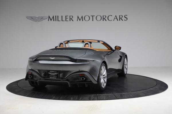New 2021 Aston Martin Vantage Roadster for sale $174,586 at Maserati of Westport in Westport CT 06880 6