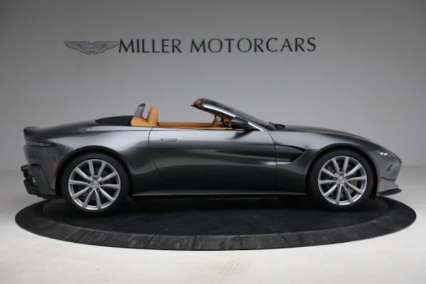 New 2021 Aston Martin Vantage Roadster for sale $174,586 at Maserati of Westport in Westport CT 06880 8