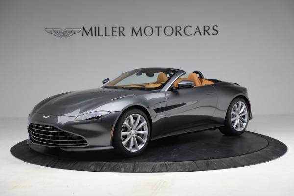 New 2021 Aston Martin Vantage Roadster for sale $174,586 at Maserati of Westport in Westport CT 06880 1