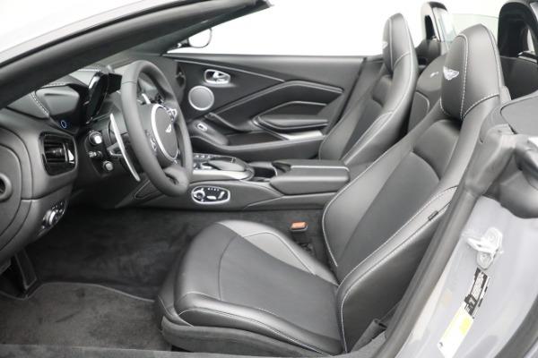 New 2021 Aston Martin Vantage Roadster for sale $180,286 at Maserati of Westport in Westport CT 06880 14