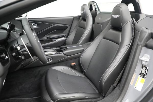 New 2021 Aston Martin Vantage Roadster for sale $180,286 at Maserati of Westport in Westport CT 06880 15