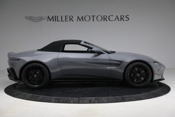 New 2021 Aston Martin Vantage Roadster for sale $180,286 at Maserati of Westport in Westport CT 06880 24