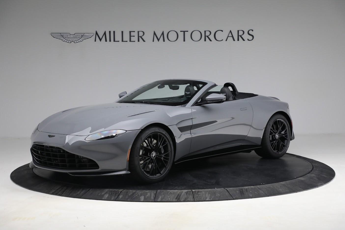 New 2021 Aston Martin Vantage Roadster for sale $180,286 at Maserati of Westport in Westport CT 06880 1