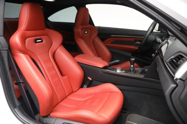 Used 2019 BMW M4 for sale $71,900 at Maserati of Westport in Westport CT 06880 19
