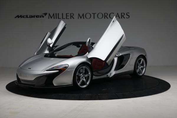 Used 2015 McLaren 650S Spider for sale $179,990 at Maserati of Westport in Westport CT 06880 13