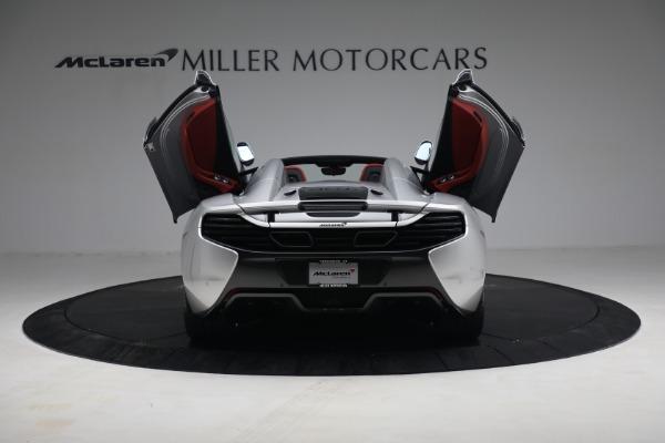 Used 2015 McLaren 650S Spider for sale $179,990 at Maserati of Westport in Westport CT 06880 16