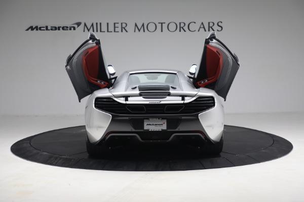 Used 2015 McLaren 650S Spider for sale $179,990 at Maserati of Westport in Westport CT 06880 24