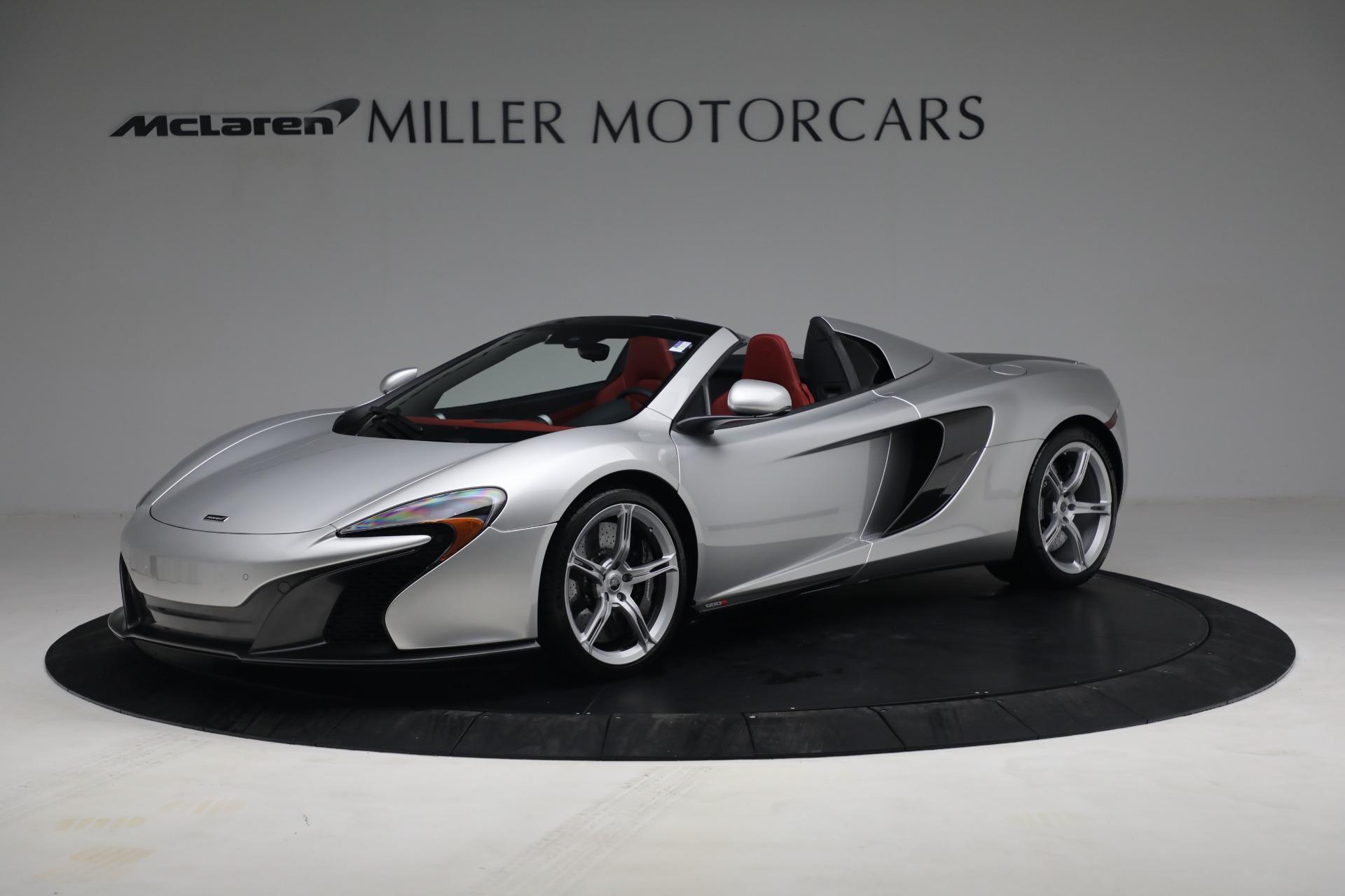 Used 2015 McLaren 650S Spider for sale $179,990 at Maserati of Westport in Westport CT 06880 1