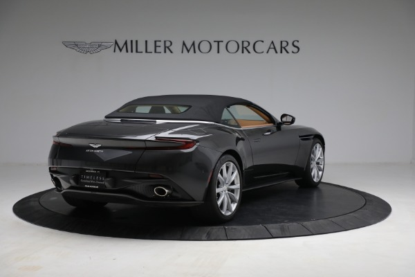 Used 2019 Aston Martin DB11 Volante for sale $212,990 at Maserati of Westport in Westport CT 06880 16
