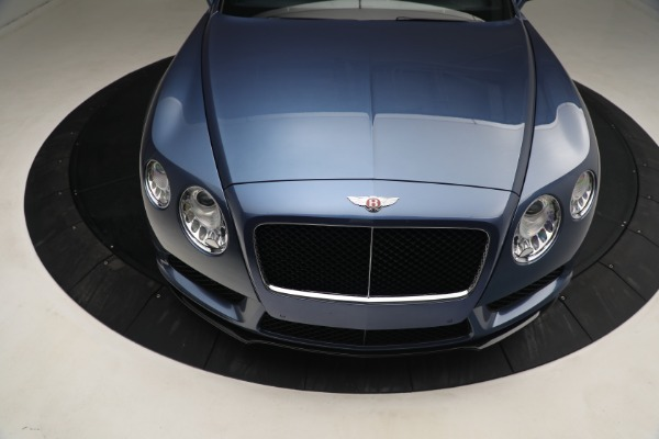 Used 2015 Bentley Continental GT V8 S for sale Call for price at Maserati of Westport in Westport CT 06880 14