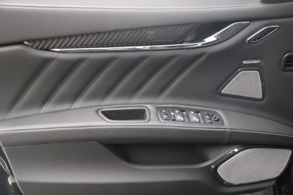 New 2022 Maserati Quattroporte Modena Q4 for sale $131,195 at Maserati of Westport in Westport CT 06880 16