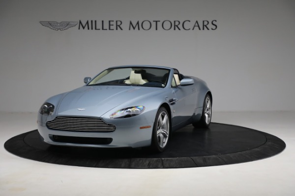 Used 2009 Aston Martin V8 Vantage Roadster for sale Call for price at Maserati of Westport in Westport CT 06880 12