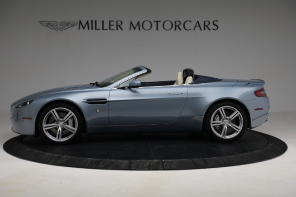 Used 2009 Aston Martin V8 Vantage Roadster for sale Call for price at Maserati of Westport in Westport CT 06880 2