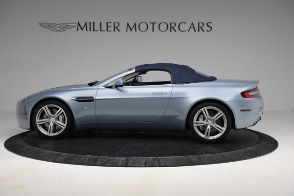 Used 2009 Aston Martin V8 Vantage Roadster for sale Call for price at Maserati of Westport in Westport CT 06880 22