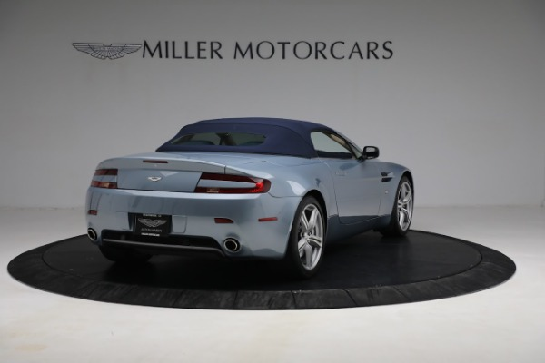 Used 2009 Aston Martin V8 Vantage Roadster for sale Call for price at Maserati of Westport in Westport CT 06880 24