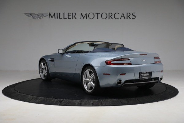 Used 2009 Aston Martin V8 Vantage Roadster for sale Call for price at Maserati of Westport in Westport CT 06880 4