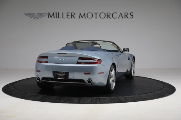 Used 2009 Aston Martin V8 Vantage Roadster for sale Call for price at Maserati of Westport in Westport CT 06880 6