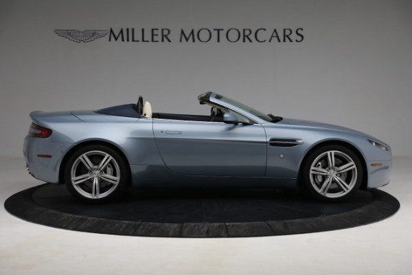Used 2009 Aston Martin V8 Vantage Roadster for sale Call for price at Maserati of Westport in Westport CT 06880 8