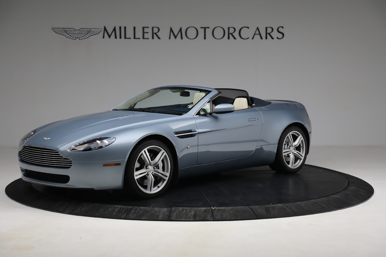 Used 2009 Aston Martin V8 Vantage Roadster for sale Call for price at Maserati of Westport in Westport CT 06880 1