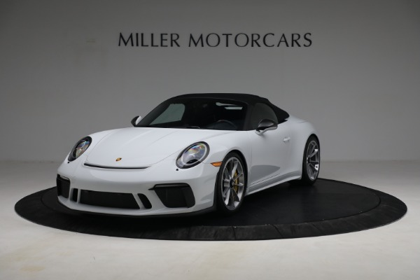 Used 2019 Porsche 911 Speedster for sale $395,900 at Maserati of Westport in Westport CT 06880 13