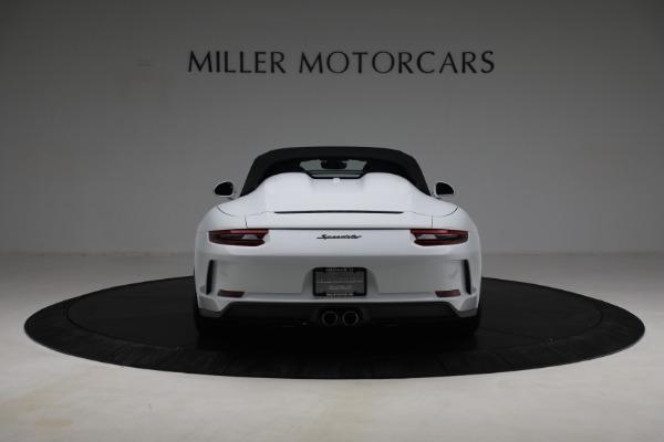 Used 2019 Porsche 911 Speedster for sale $395,900 at Maserati of Westport in Westport CT 06880 16