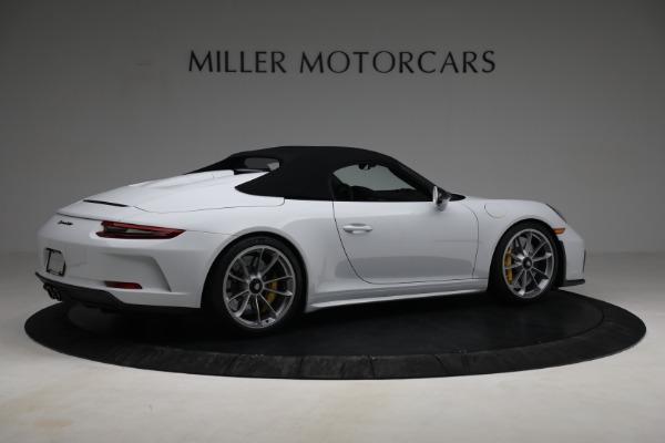 Used 2019 Porsche 911 Speedster for sale $395,900 at Maserati of Westport in Westport CT 06880 18
