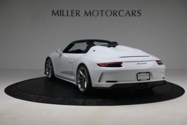 Used 2019 Porsche 911 Speedster for sale $395,900 at Maserati of Westport in Westport CT 06880 5