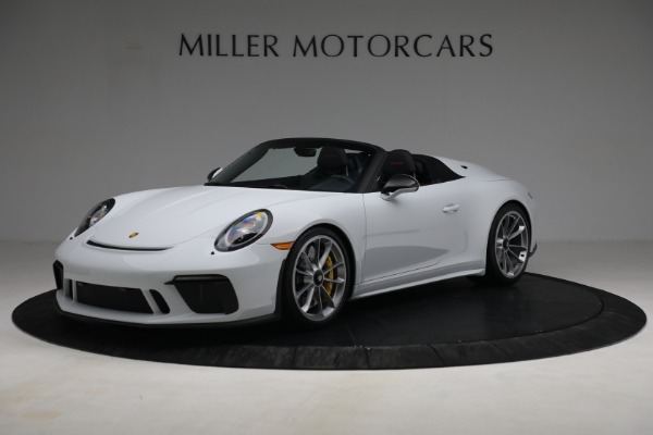 Used 2019 Porsche 911 Speedster for sale $395,900 at Maserati of Westport in Westport CT 06880 1