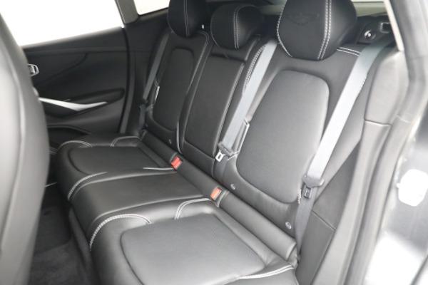 New 2021 Aston Martin DBX for sale $202,286 at Maserati of Westport in Westport CT 06880 21