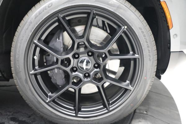 New 2021 Aston Martin DBX for sale $202,286 at Maserati of Westport in Westport CT 06880 28
