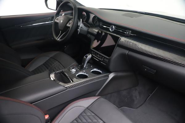 New 2022 Maserati Quattroporte Modena Q4 for sale $128,775 at Maserati of Westport in Westport CT 06880 17