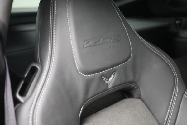 Used 2016 Chevrolet Corvette Z06 for sale $85,900 at Maserati of Westport in Westport CT 06880 25
