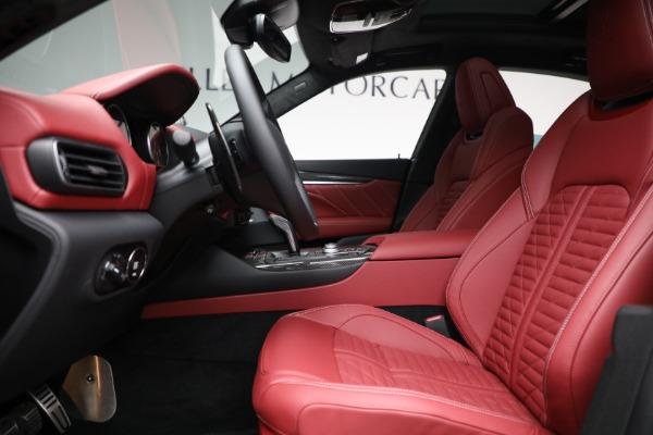 New 2022 Maserati Levante Trofeo for sale $155,045 at Maserati of Westport in Westport CT 06880 14