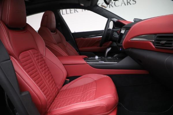 New 2022 Maserati Levante Trofeo for sale $155,045 at Maserati of Westport in Westport CT 06880 27