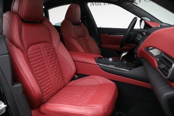 New 2022 Maserati Levante Trofeo for sale $155,045 at Maserati of Westport in Westport CT 06880 28