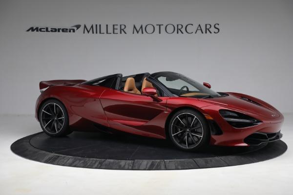 New 2022 McLaren 720S Spider for sale $382,090 at Maserati of Westport in Westport CT 06880 10