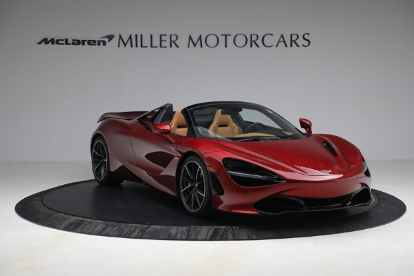 New 2022 McLaren 720S Spider for sale $382,090 at Maserati of Westport in Westport CT 06880 11