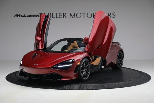 New 2022 McLaren 720S Spider for sale $382,090 at Maserati of Westport in Westport CT 06880 14