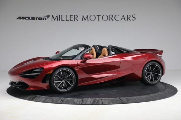 New 2022 McLaren 720S Spider for sale $382,090 at Maserati of Westport in Westport CT 06880 2