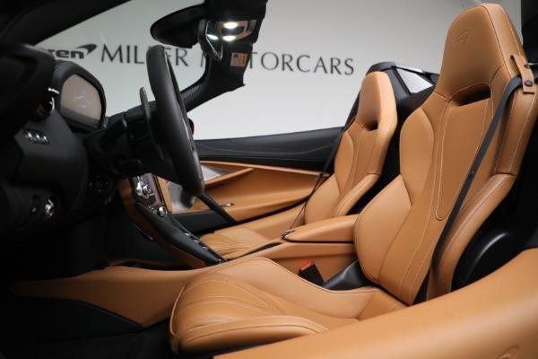 New 2022 McLaren 720S Spider for sale $382,090 at Maserati of Westport in Westport CT 06880 21