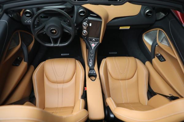 New 2022 McLaren 720S Spider for sale $382,090 at Maserati of Westport in Westport CT 06880 24
