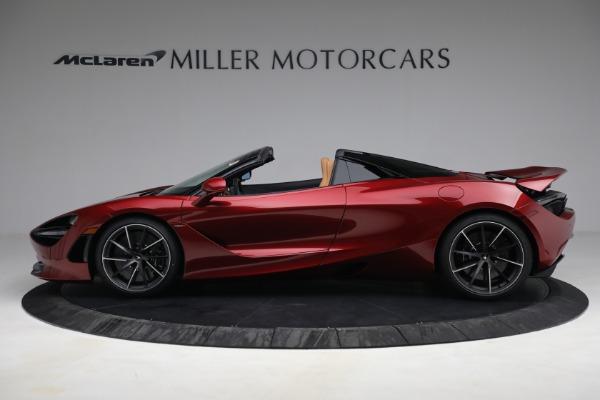 New 2022 McLaren 720S Spider for sale $382,090 at Maserati of Westport in Westport CT 06880 3