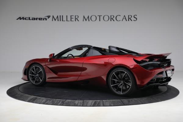 New 2022 McLaren 720S Spider for sale $382,090 at Maserati of Westport in Westport CT 06880 4