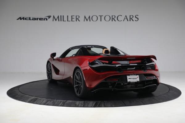 New 2022 McLaren 720S Spider for sale $382,090 at Maserati of Westport in Westport CT 06880 5