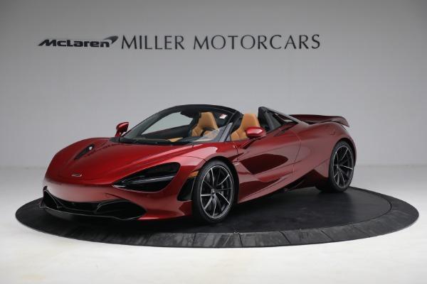 New 2022 McLaren 720S Spider for sale $382,090 at Maserati of Westport in Westport CT 06880 1