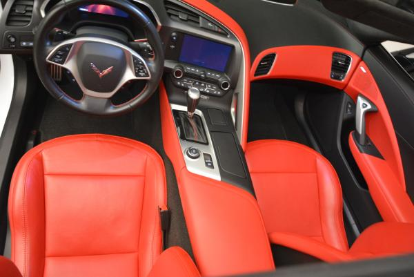 Used 2014 Chevrolet Corvette Stingray Z51 for sale Sold at Maserati of Westport in Westport CT 06880 17