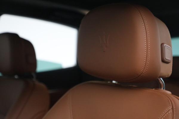 New 2022 Maserati Levante Modena for sale $104,545 at Maserati of Westport in Westport CT 06880 16