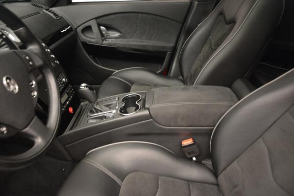 Used 2011 Maserati Quattroporte Sport GT S for sale Sold at Maserati of Westport in Westport CT 06880 15